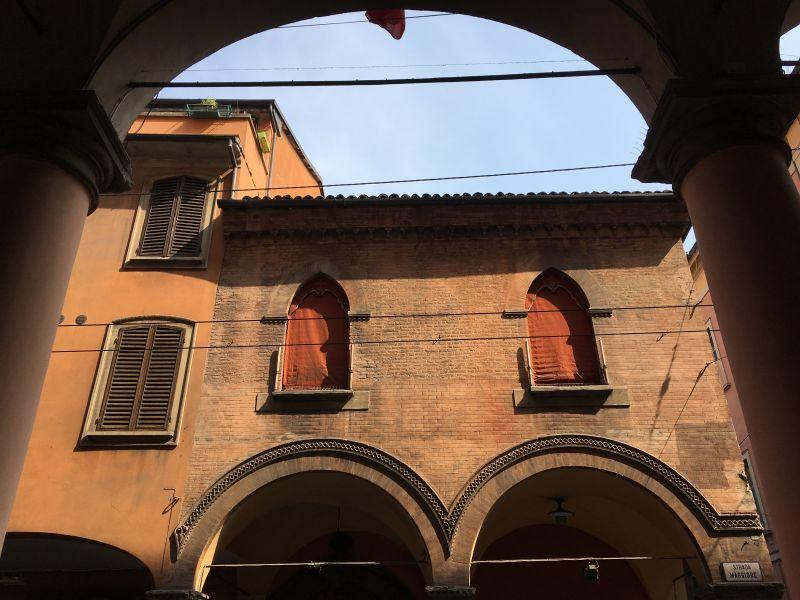 Strada Maggiore porticoes, Bologna