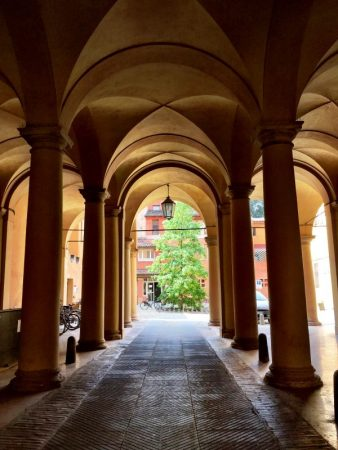 University of Bologna arches